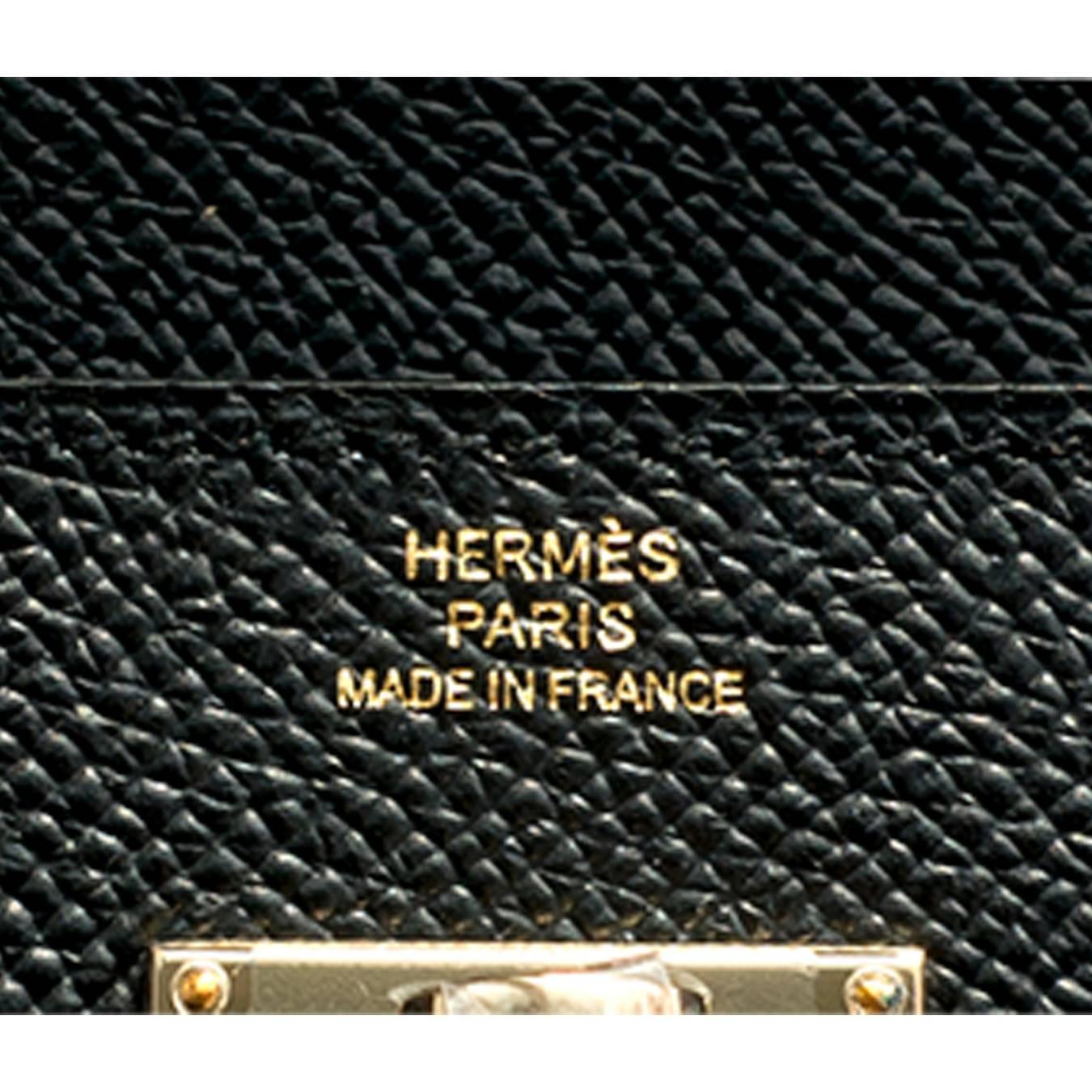 hermes kelly wallet clutch