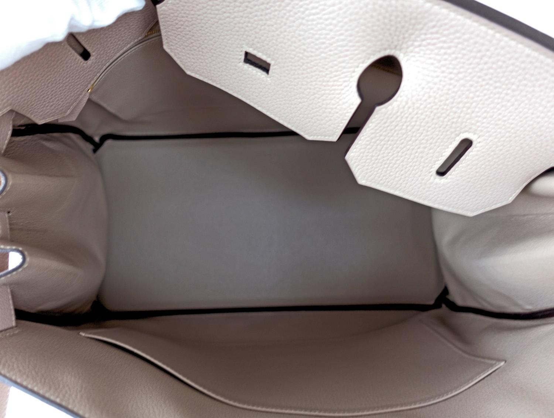 handbags hermes outlet - Hermes Gris Tourterelle 40cm Togo Birkin Gold GHW Tote Bag Superb ...