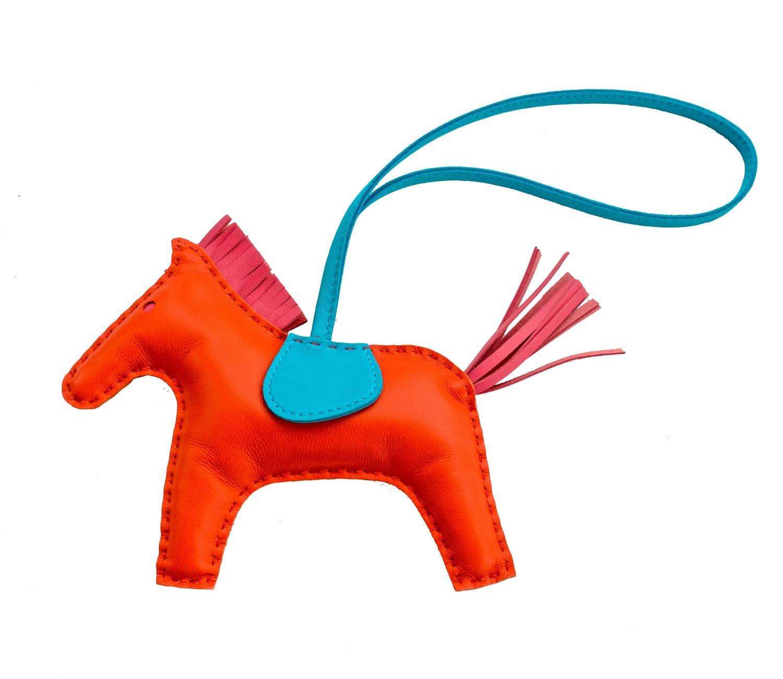 pink birkin bag price - hermes orange poppy rose azalea rodeo horse charm mm for birkin ...