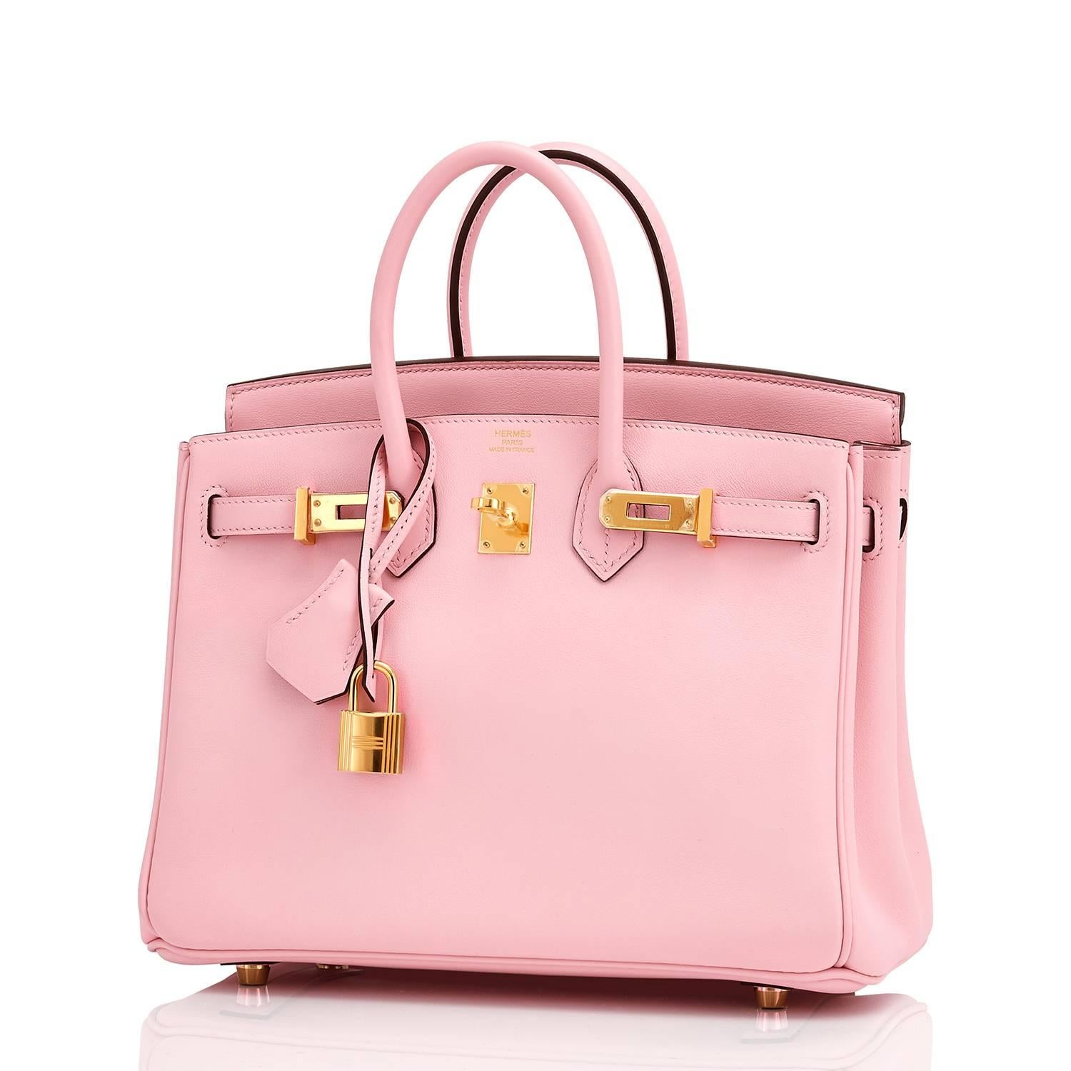 f4a0dad949fb ... canada hermes swift gold hardware pink jewel birkin 25 rose sakura bag  at 1stdibs c3baf a42f1