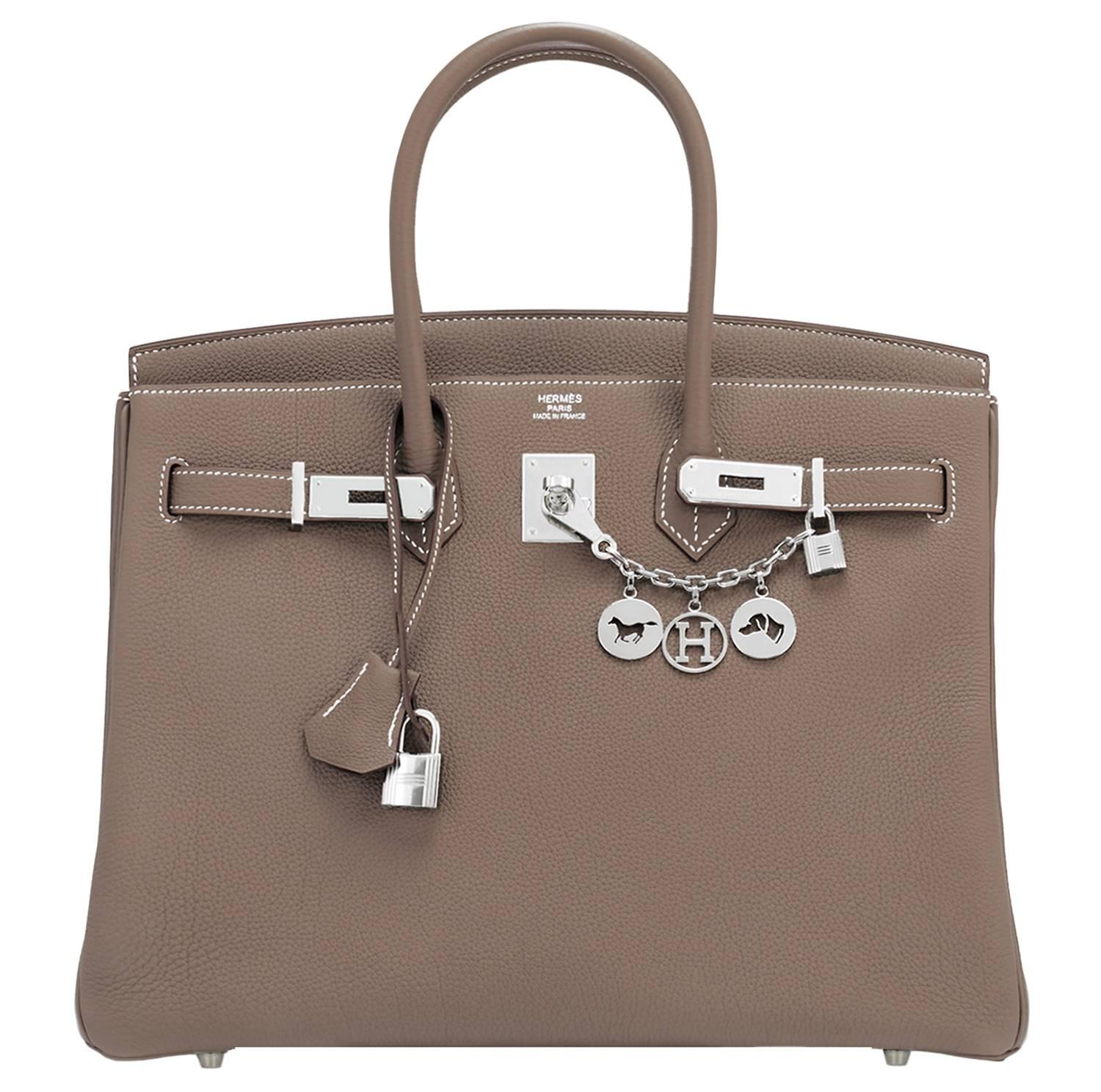 2a6983c74b Hermes Birkin 35Cm Handbags - 273 For Sale on 1stdibs