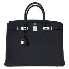 Hermes Birkin 40cm Togo Palladium Hardware Birkin Bag C Stamp, 2018