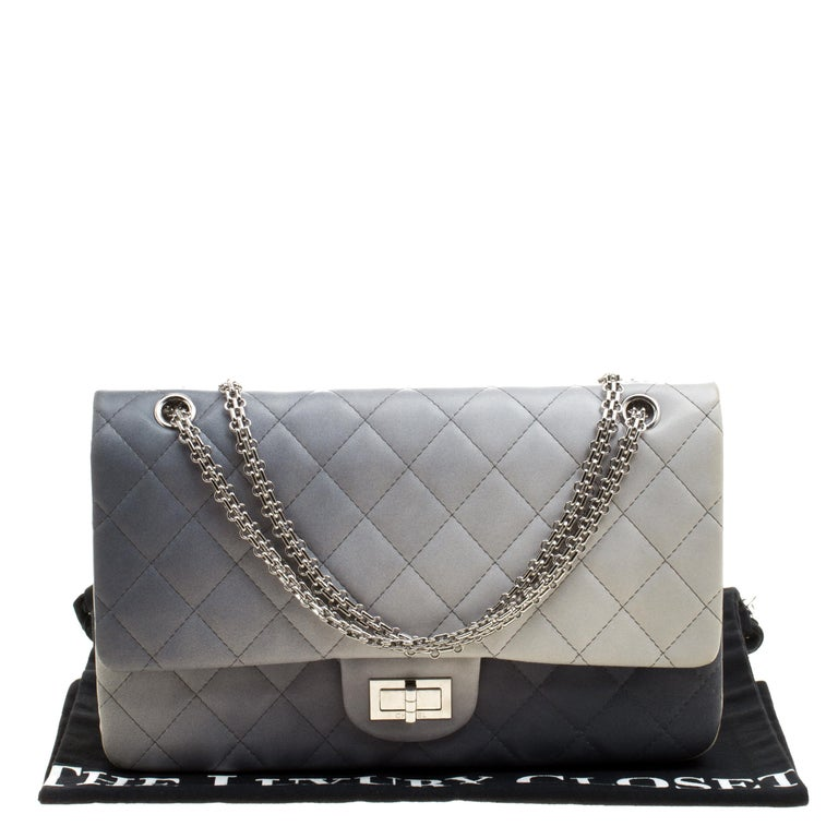 46fa869a128343 Chanel Multicolor Quilted Leather Reissue 2.55 Classic 227 Flap Bag For  Sale 2