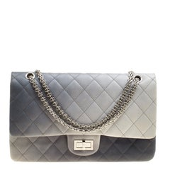 Chanel Multicolor Quilted Leather Reissue 2.55 Classic 227 Flap Bag