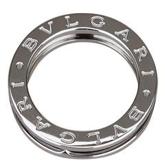 Bvlgari B.Zero1 1-Band White Gold Ring