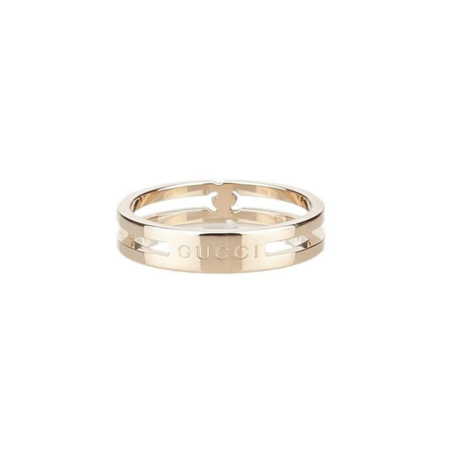 a3ba9c285 Gucci Infinity Rose Gold Ring Size 52 For Sale at 1stdibs