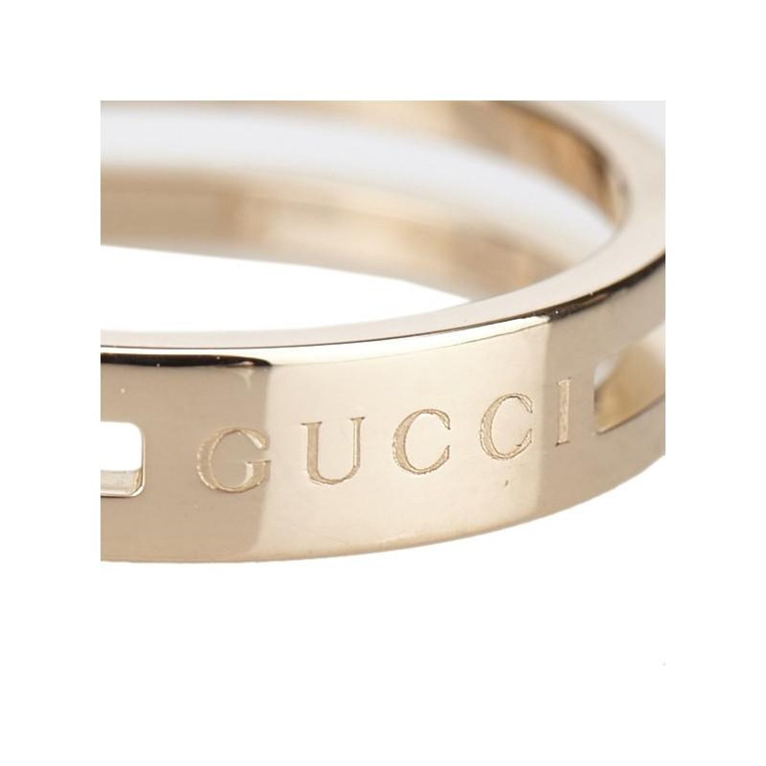 943b65e3e Gucci Infinity Rose Gold Ring Size 52 For Sale at 1stdibs