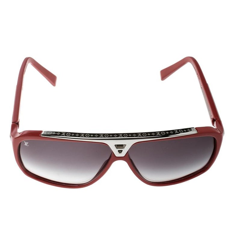 158fcb313a LOUIS VUITTON EVIDENCE SUNGLASSES Golden black Z0105w Source · Louis Vuitton  Red Black Gradient Z0286W Evidence Sunglasses at 1stdibs