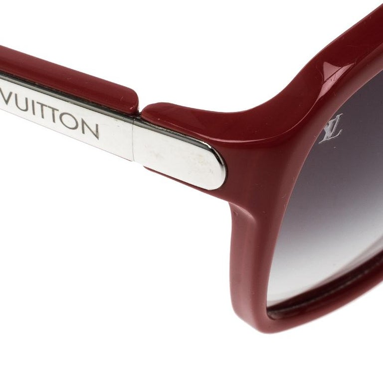 3f45c51af06d Louis Vuitton Red Black Gradient Z0286W Evidence Sunglasses In Good  Condition For Sale In Dubai
