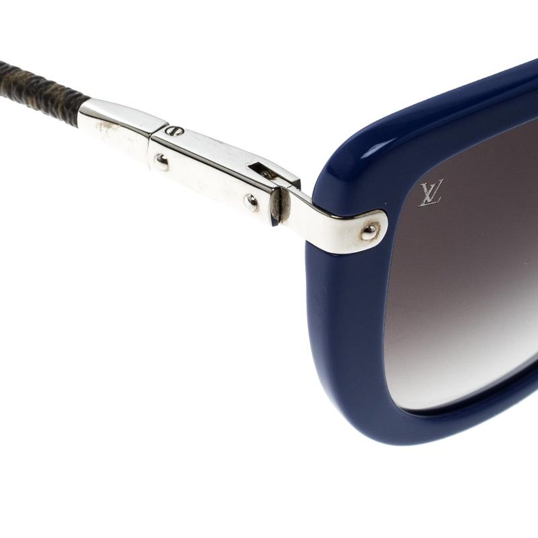 05f35108a661 Louis Vuitton Blue/Black Gradient Z0745W Charlotte Sunglasses at 1stdibs
