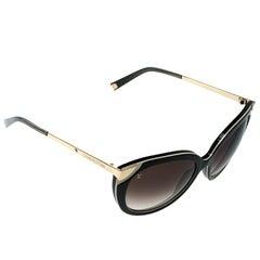Louis Vuitton Green/Brown Gradient Z0779W Cat Eye Sunglasses