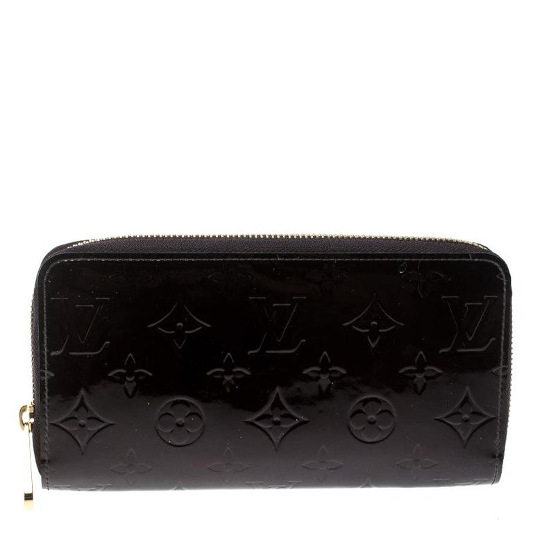 Louis Vuitton Amarante Monogram Vernis Zippy Wallet at 1stdibs 4935775fdee