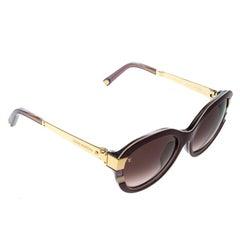 Louis Vuitton Purple/Purple Gradient Z0593E Petite Soupcon Cat Eye Sunglasses