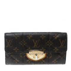 Louis Vuitton Monogram Canvas Etoile Sarah Wallet