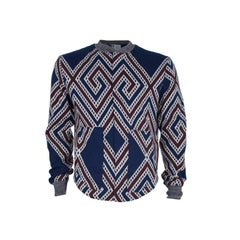 Vivienne Westwood Men's Geometric Print Bomber Jacket L