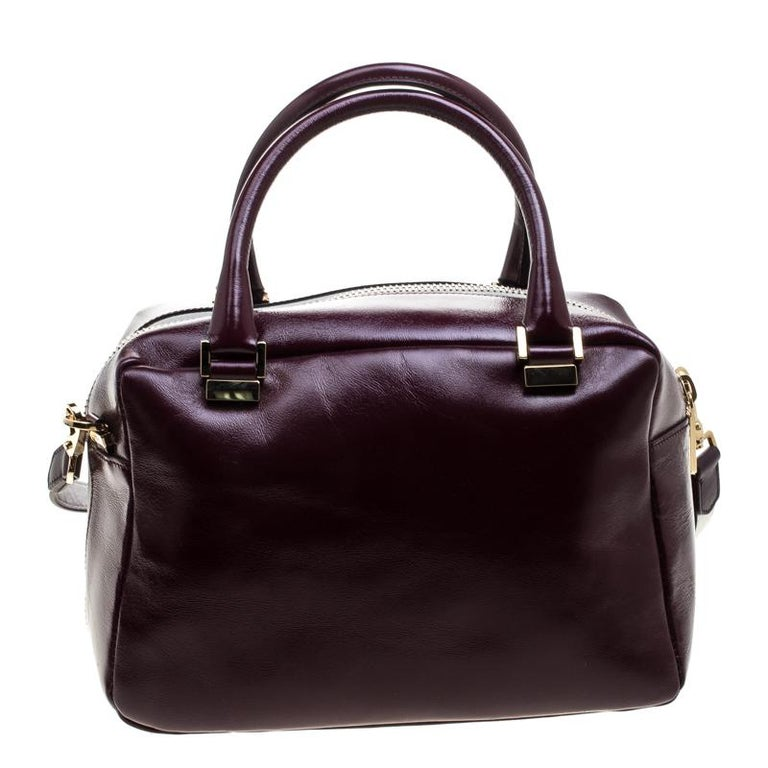 This Bowler Bag From Tod S Is Simple In Design But High On Style Crafted