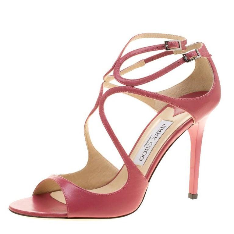 9f547faf020 Silver Jimmy Choo Glittered Platform Sandals For Sale at 1stdibs