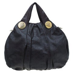 Gucci Burgundy Guccussima Leather Large Hysteria Hobo