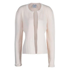 Chanel Light Pink Cardigan M