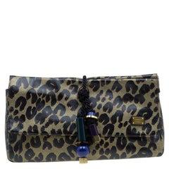 Louis Vuitton Limited Edition Leopard Nocturne African Queen Clutch