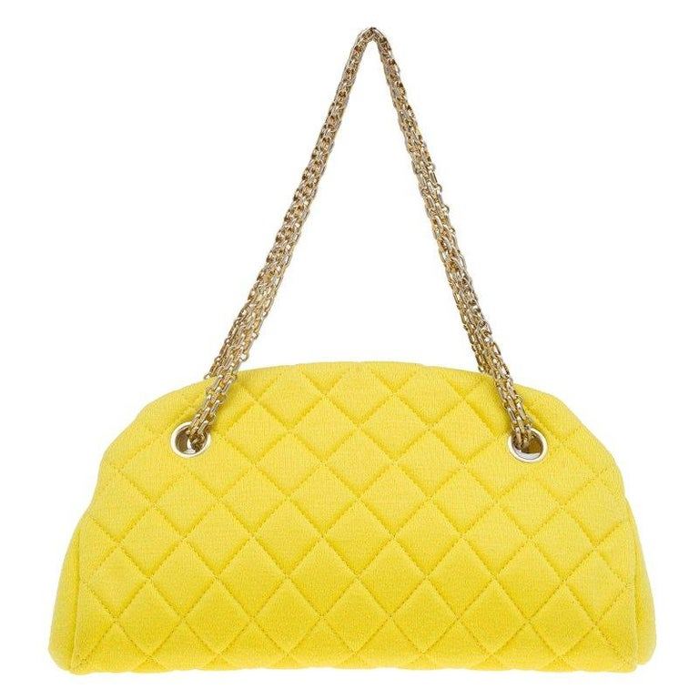 10e840377090 The Just Mademoiselle Bowling Bag by Chanel is dapperly structured for an  opulent go. Crafted