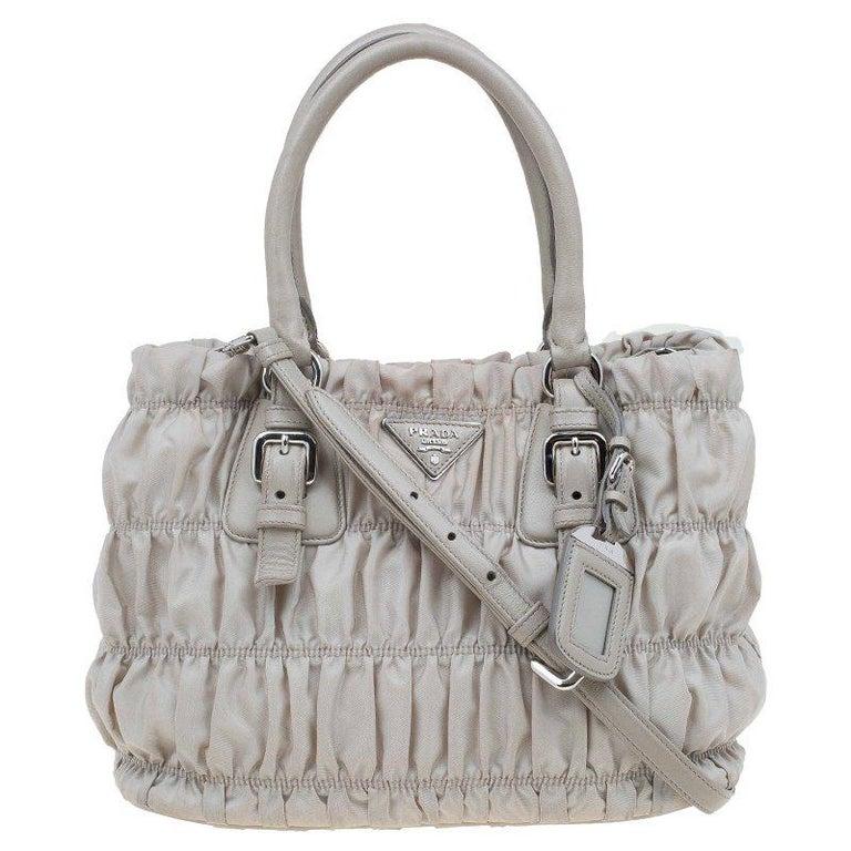 11410dcba4d5 Prada Pomice Gaufre Tessuto Nylon Shopping Tote at 1stdibs