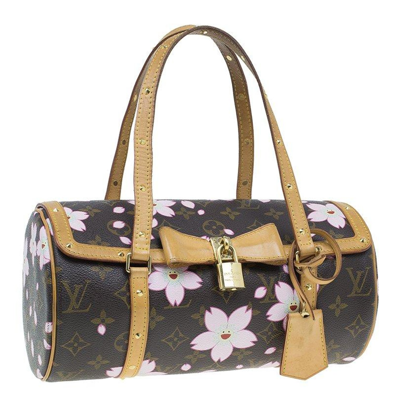 88144ef4bad Louis Vuitton Monogram Canvas Limited Edition Cherry Blossom Papillon Bag  at 1stdibs
