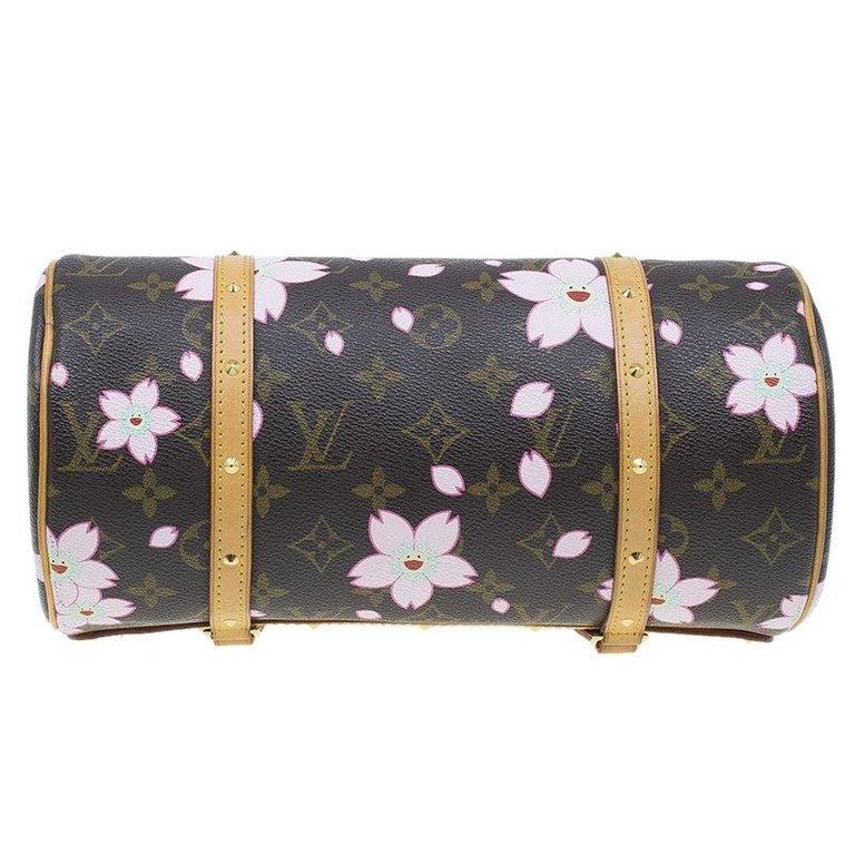 511e6426e957 Women s Louis Vuitton Monogram Canvas Limited Edition Cherry Blossom  Papillon Bag For Sale