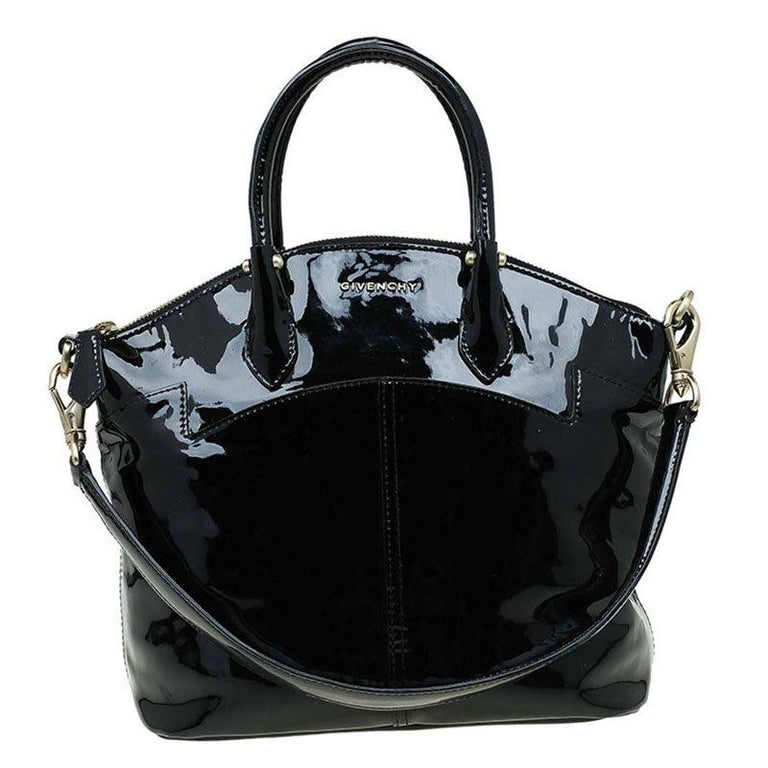 Givenchy Black Patent Leather Top Handle Bag at 1stdibs e13b3800cb812