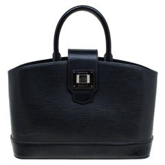 Louis Vuitton Black Epi Leather Mirabeau PM Bag
