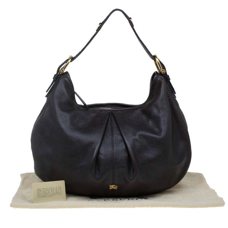 Burberry Black Leather Large Malika Hobo at 1stdibs 9809949f58113