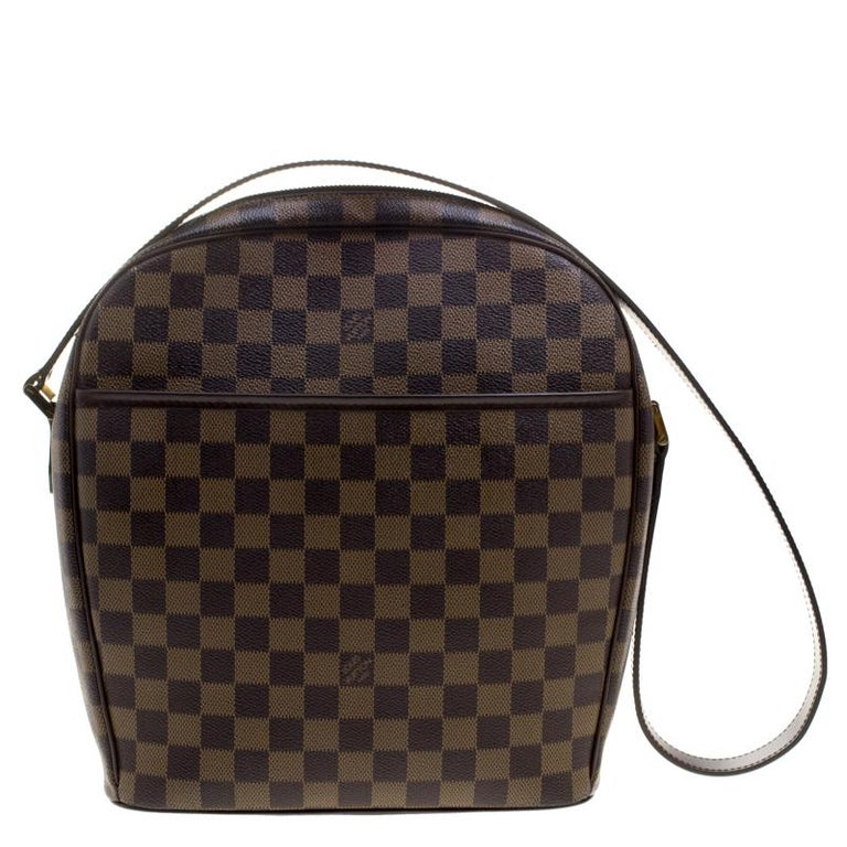7579a03af240 Louis Vuitton Damier Ebene Canvas Ipanema GM Bag at 1stdibs