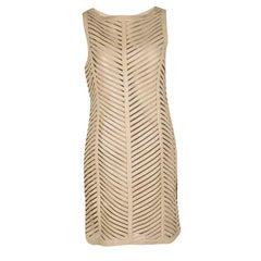 Ralph Lauren Beige Cut Out Detail Severina Dress M