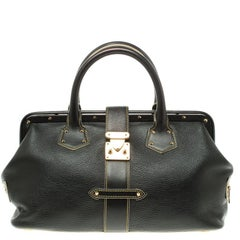 Louis Vuitton Black Suhali Leather L'Ingenieux PM Bag
