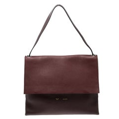 Celine Tricolor Leather and Suede All Soft Tote