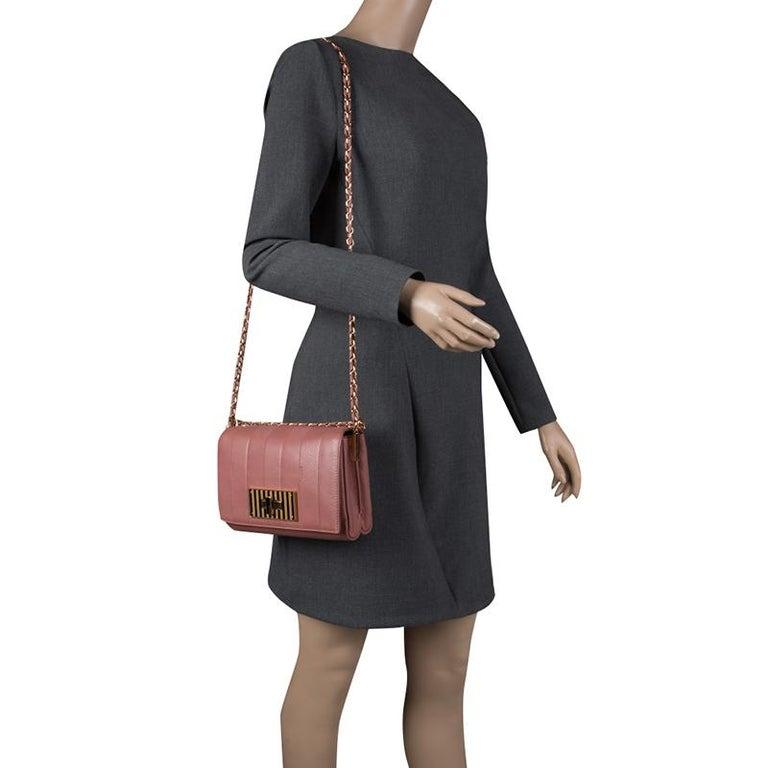 60ea7ac3547 Fendi Pastel Beige Leather Claudia Shoulder Bag In Excellent Condition For  Sale In Dubai, AE