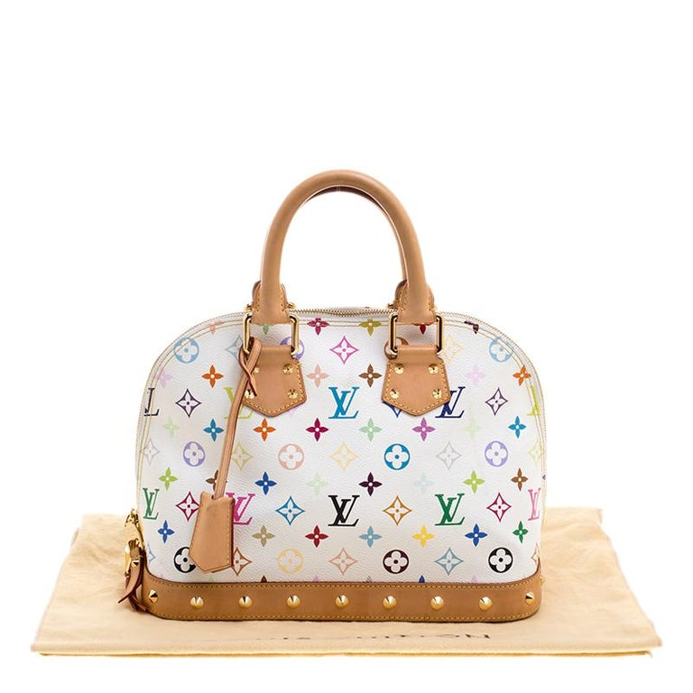 f8cd796f7ab2 White Multicolor Louis Vuitton Handbags - Handbag Photos Eleventyone.Org