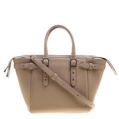 Aspinal Of London Dusty Pink Leather Mini Marylebone Tote