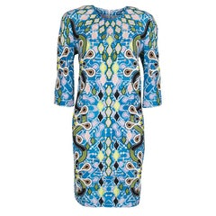 Peter Pilotto Multicolor Printed Crepe Cube Dress M