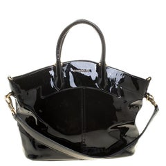 Givenchy Black Patent Leather Tote