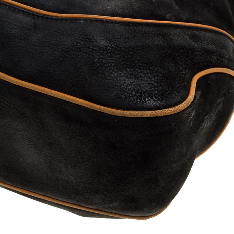 Gucci Black Leather New Jackie Shoulder Bag For Sale 4