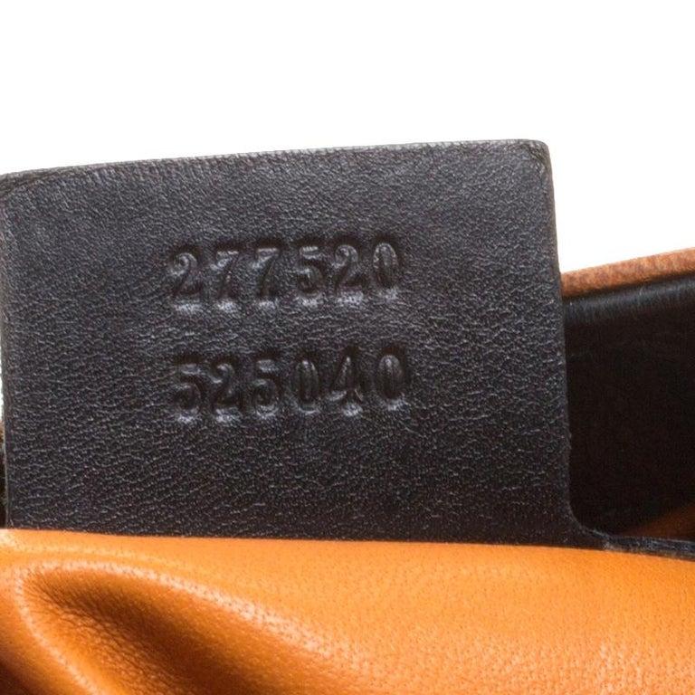 Gucci Black Leather New Jackie Shoulder Bag For Sale 5