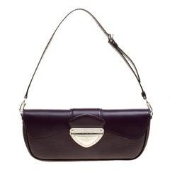 Louis Vuitton Cassis Epi Leather Montaigne Clutch Bag