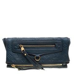 Louis Vuitton Orage Monogram Empreinte Leather Petillante Clutch