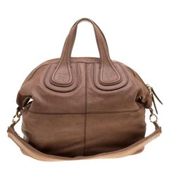 Givenchy Light Brown Leather Medium Nightingale Tote