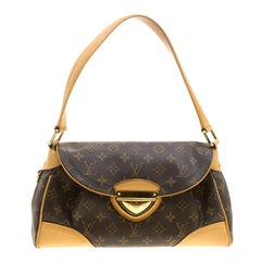 Louis Vuitton Monogram Canvas and Leather Beverly MM Bag