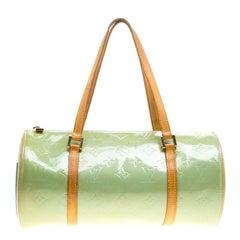 Louis Vuitton Mint Green Monogram Vernis Bedford Bag