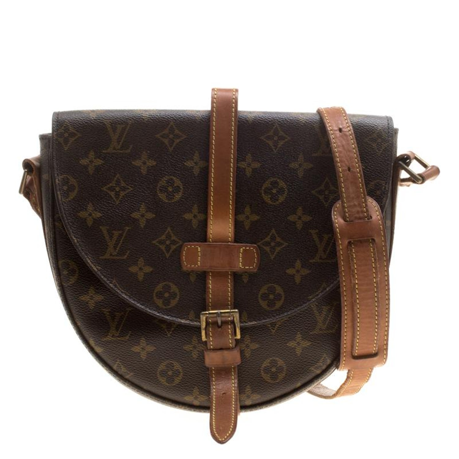 78a45b9c1 Louis Vuitton Monogram Canvas Chantilly GM Bag For Sale at 1stdibs