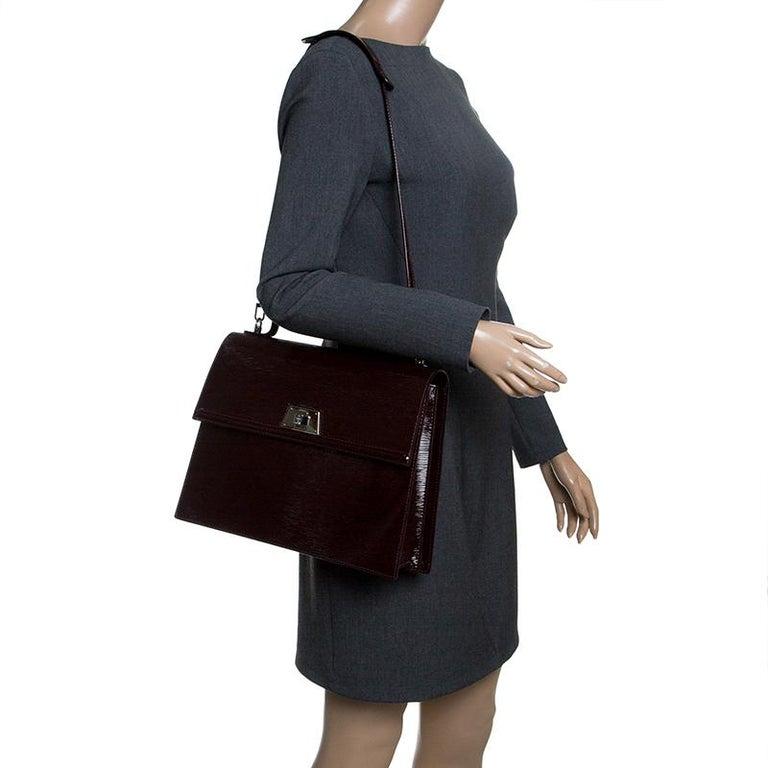 72ad5eaebc1ed Black Louis Vuitton Mirabeau Electric Epi Leather Sevigne GM Bag For Sale