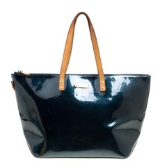 Louis Vuitton Green Monogram Vernis Bellevue GM Bag